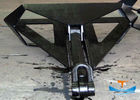 Marine Boat Delta Flipper Anchor , Offshore Navy Stockless Anchor With High Holding Power