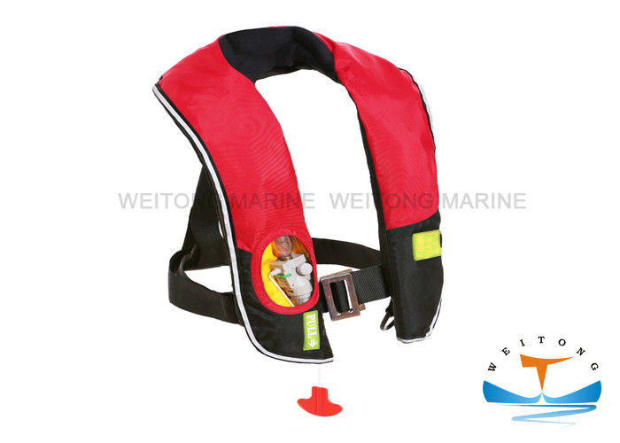 Waterproof Nylon Marine Safety Equipment Life Jacket Fashionable And Portable Design