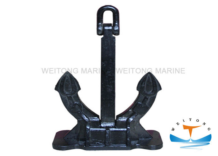 Navy Ship Marine Mooring Equipment Speck Anchor Galvanized / Painted Surface