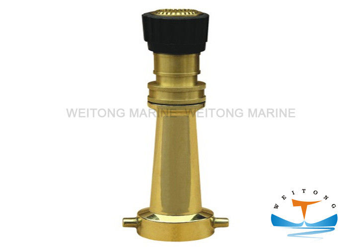 USA Type Brass Jet Nozzle 50mm Water Inlet Durable Lightweight Construction