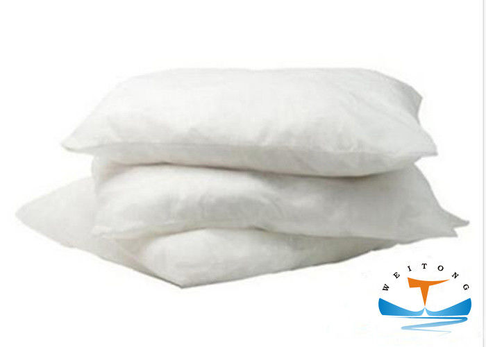 Spill Control Industrial Oil Absorbent Pillows Fine Fibers Particulate Material